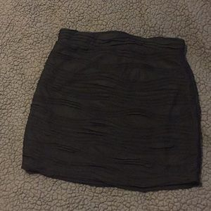 3/$15 Super cute little black mini skirt!