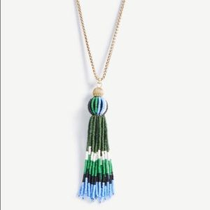 Coming soon! Ann Taylor beaded tassel necklace