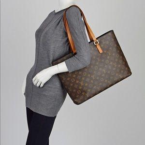 Authentic Louis Vuitton Luco Monogram tote