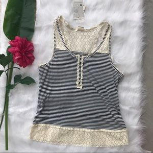 Inked and Faded tank (L) NWT