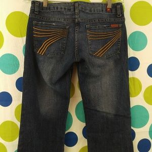7 for All Mankind Bootcut Jeans Size 30
