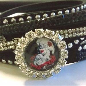 Tattoo Marilyn Monroe Wrap Charm Bracelet