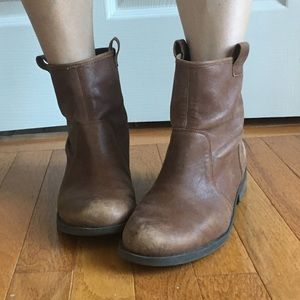 Sole Society Brown Booties