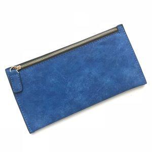 Royal Blue Wallet/Clutch