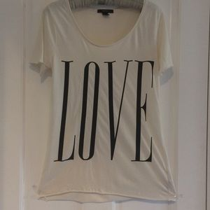 """Loose Fit LOVE """"T"""""""