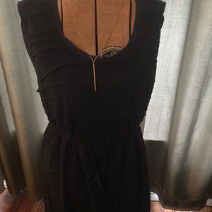 Simply Vera Navy Drawstring Dress
