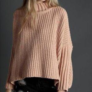 Pol Oversized Mock Neck Sweater