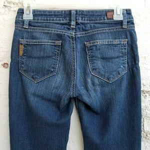 {Paige} Skyline Straight jeans.