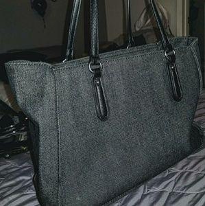 Guess Bags - 👛⚫GUESS Black Denim Tote Bag⚫👛 9cd766137d