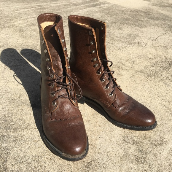 c086c2a12a1 ❤️Rare Vintage Justin Boots 90s❤️