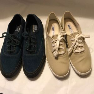 Ladies Keds canvas lace up shoe Bundle sz 8