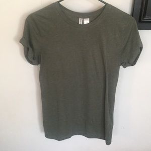 H&M Olive Green Top-Size XS