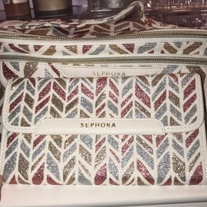 SEPHORA Makeup Bag and Brush Holder (NEW)