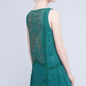 New Francesca Beaded Tunic Med Chloe Oliver