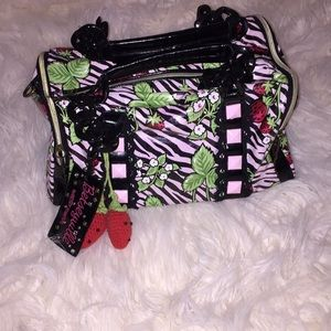 Betseyville strawberry mini duffle