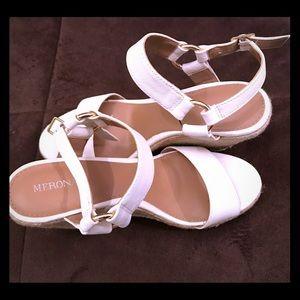 Merona white espadrilles