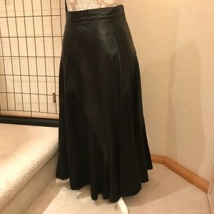 RIDING SKIRT, LEATHER & SUEDE, EL Paso, TX