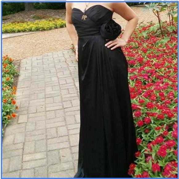 Pricilla of Boston Dresses | Black Priscilla Of Boston Prom Dress ...
