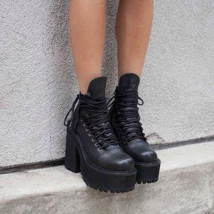 🖤BLACK FRI SALE!!Unif platform boots