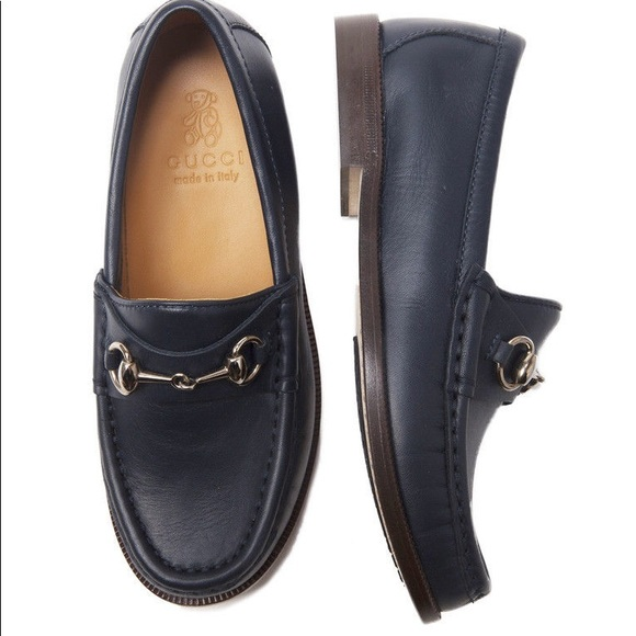 a704d9854e7 Gucci Other -  SALE  Gucci kids horsebit loafer in black leather