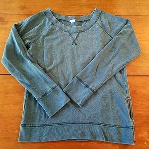 J. Crew Side Zip Sweatshirt