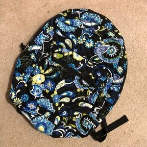 Blue paisley backpack!