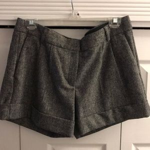 Express tweed shorts