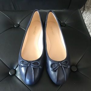 NWT [Nine West] Navy Ballet Flats