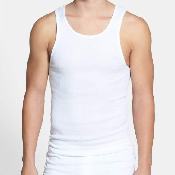 12f6bce0e4df7 3 pack ribbed tank tops