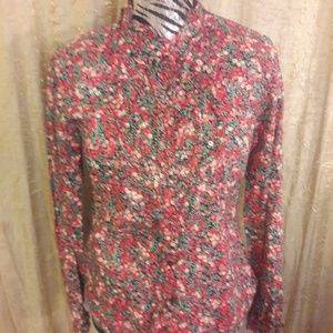 J. Crew Suzannah shirt in liberty fabric