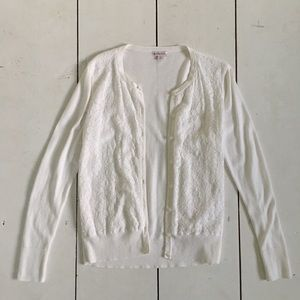 White Cardigan from Target