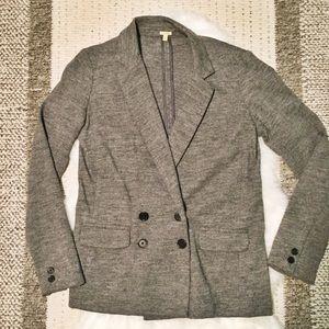 J.Crew Grey Wool Blazer
