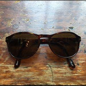 Persol Polarized Tortoise-Shell Sunglasses