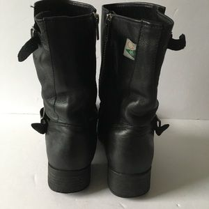 12f28d9db79 Mellow Walk Womens Black Boots 6D Vanessa Side Zip