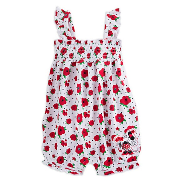 0c8d1f57f Disney One Pieces | Minnie Mouse Romper | Poshmark