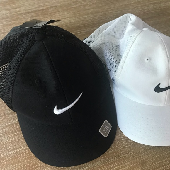 96bc0061a NWT Two Nike Men's Flexfit Golf Hats Size L/XL