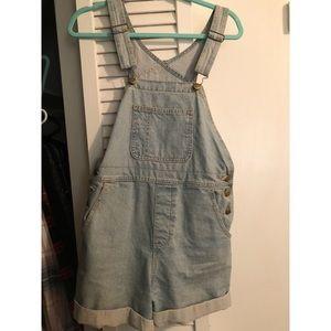 American apparel overalls