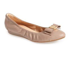Tali Bow Ballet Flats like new!!