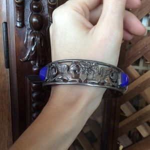 Vintage Jewelry - Hungarian Griffin 800 Silver Bracelet