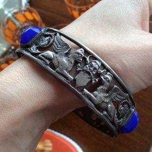 LAST CHANCE Hungarian Griffin 800 Silver Bracelet