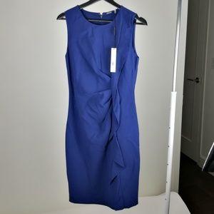NEW - blue Elie Tahari dress