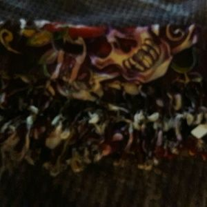 Ed hardy type scarves ..pd 20 each