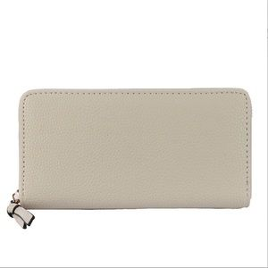 🆕 | CREAM CONTINENTAL WALLET |