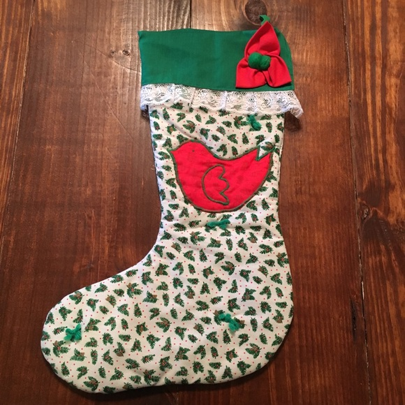 quilted christmas stocking - Quilted Christmas Stockings