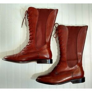 Cole Haan Country lace-up boots