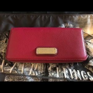 Marc By Marc Jacobs Woman's Wallet in Peony NWT