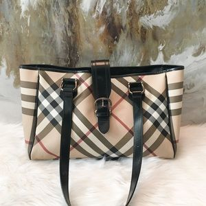 Burberry Novacheck Large Diaper Bag