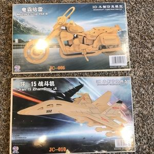 Other - Woodcraft construction kits