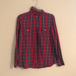 Super cute flannel size MED.