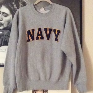 Vintage NAVY Sweatshirt